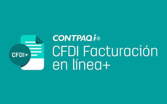 CONTPAQi® CFDI Facturación en línea +