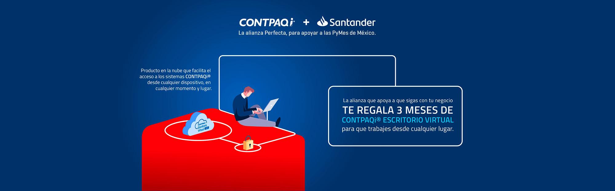 Alianza Contpaqi Santander